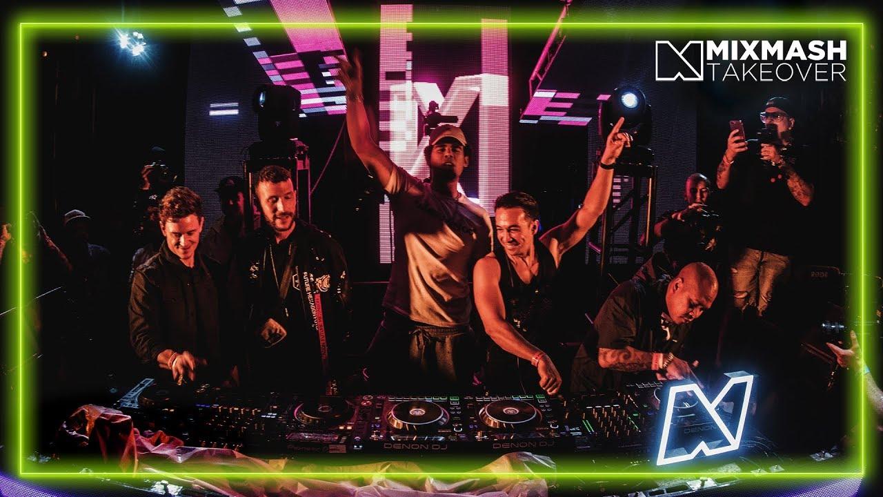 Laidback Luke B2B Afrojack B2B Don Diablo B2B Fedde Le Grand   Live @ Mixmash Takeover: Miami 2019 ile ilgili görsel sonucu