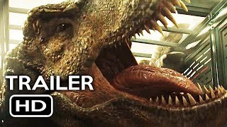 Jurassic World 2: Fallen Kingdom Official Trailer #3 Teaser (2018) Chris Pratt Action Movie HD