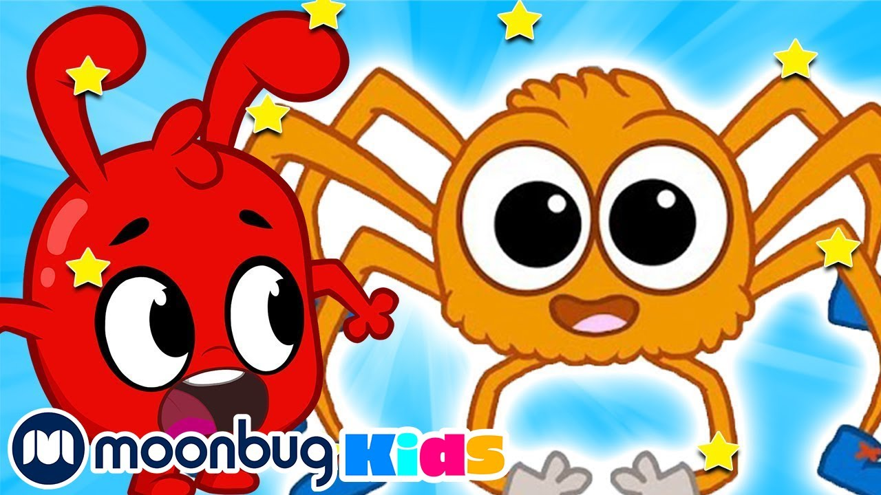 Itsy Bitsy Spider - Morphle TV   Learning Videos For Kids   Educational Videos For Toddlers