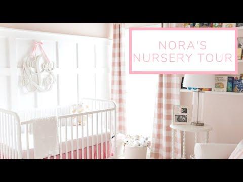 Nora's Nursery Tour | Blush Pink Baby Girl Nursery