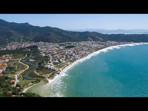 Praia de Palmas - Governador Celso Ramos - Santa Catarina - 4K