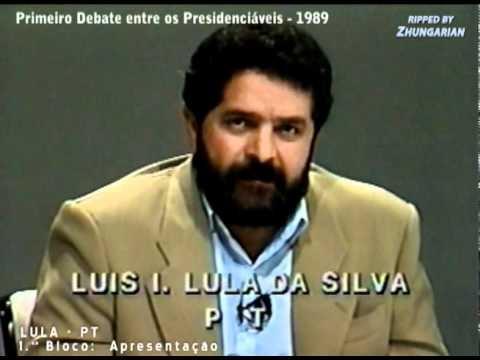 Resultado de imagem para debate presidencial de 1989