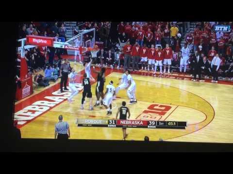 Nebraska Full Court Buzzer Beater Attempt!!!!!