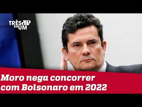 Moro não descarta futuro na política mas nega concorrer com Bolsonaro em 2022
