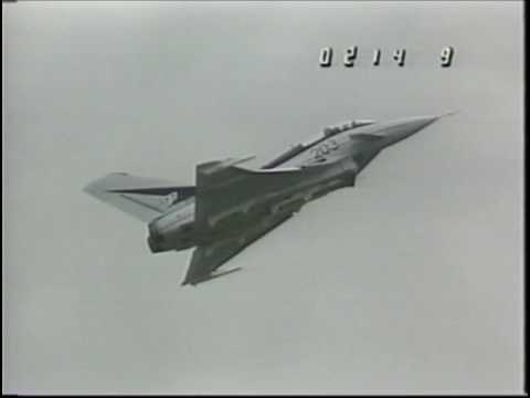 British Aerospace EAP (Paris Airshow 1987 - Complete Demonstration)