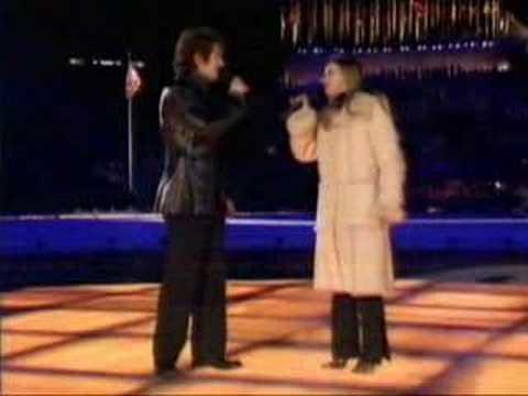 Charlotte Church & Josh Groban - The Prayer - Salt Lake 2002