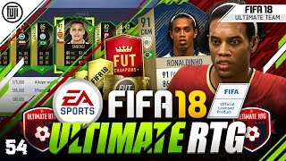 THE GOD - RONALDINHO!!! FIFA 18 ULTIMATE ROAD TO GLORY! #54 - #FIFA18 Ultimate Team