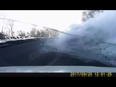 Авария на трассе Байкал (Слюдянка-Утулик)