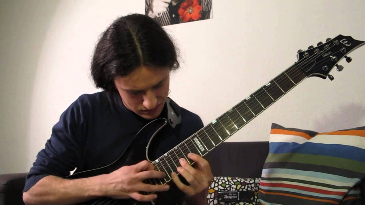 Andy James - Angel Of Darkness Full Guitar Cover - YouTube