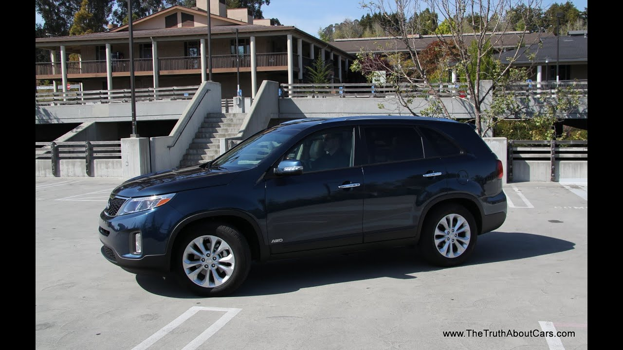2014 Kia Sorento EX Road Test and Drive Review