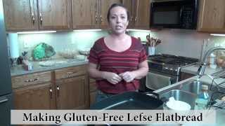 Gluten Free Bread Making - Lefse Recipe
