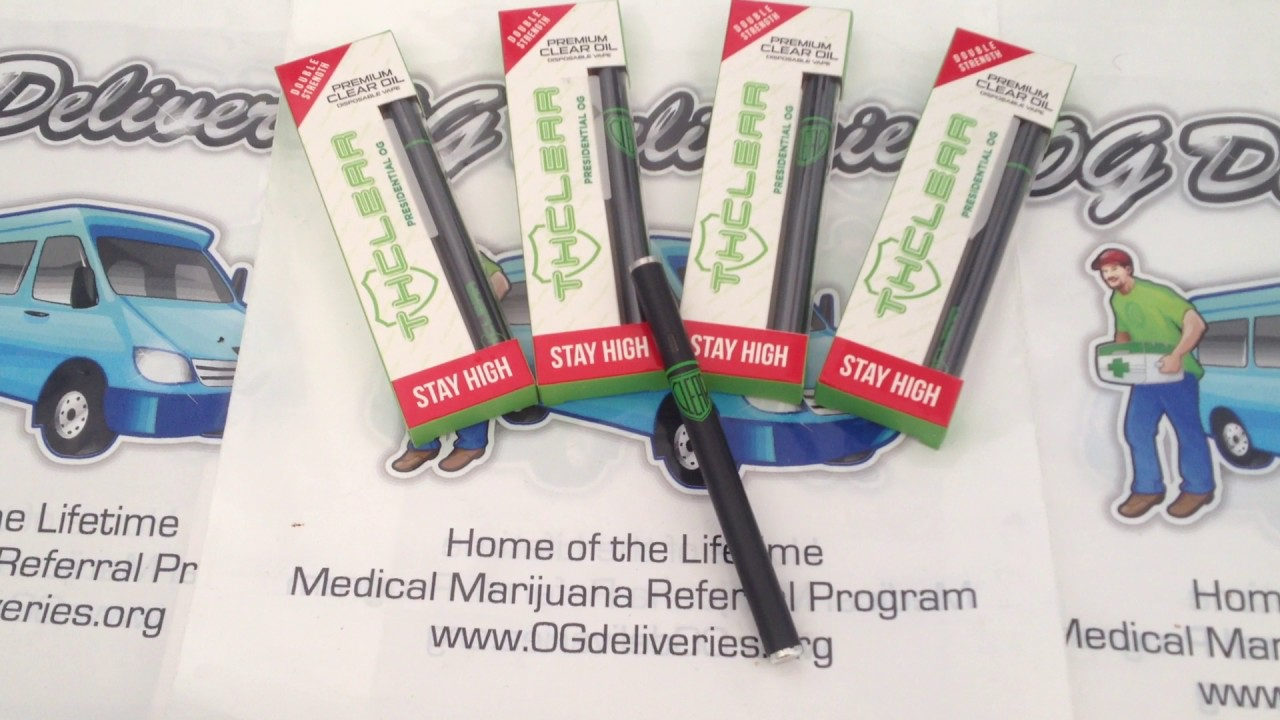 THClear Disposable Pens 500MG from www ogdeliveries org - YouTube