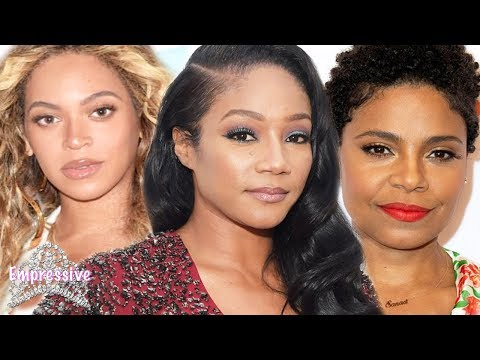 Tiffany Haddish in trouble with Sanaa Lathan's family for revealing that Sanaa bit Beyonce