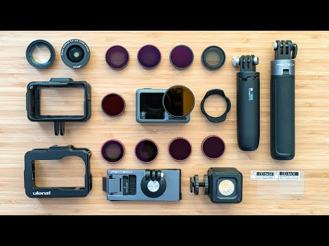 DJI Osmo Action Accessories - PGYTECH, Cages, Filters & More