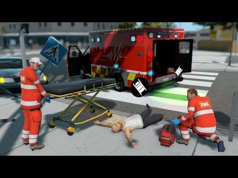 Flashing Lights EMS Paramedic Gameplay