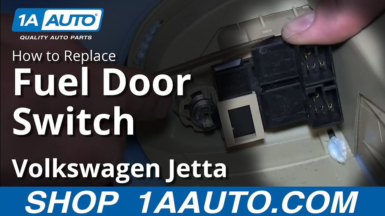 How To Replace Fuel Door Switch 00 05 Volkswagen Jetta