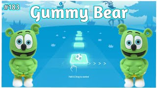Tiles Hop - The Gummy Bear Song (Movies, Games and Series COVER) Part 4 | V Gamer