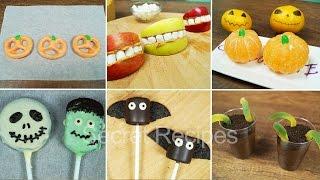 Снеки на Хэллоуин. Лайфхаки с едой. Сладости на Halloween | Halloween treats