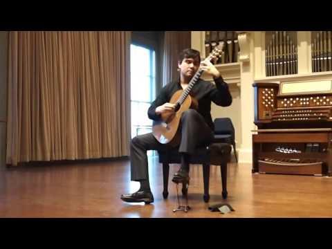 """Thomas Clippinger - Ponce Sonata III mov. 3 """"Allegro non Troppo"""""""