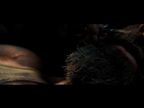 LOGAN (2017) Blu-ray CLIP | Cutting Off Logan's Beard (Wolverine Style) - North Dakota (Scene) | HD