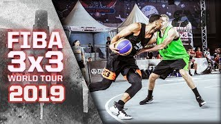Riga v Edmonton | Full Game | FIBA 3x3 World Tour - Nanjing Masters 2019