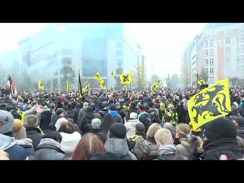 شاهد: مظاهرات في بروكسل مناهضة وأخرى مؤيدة للميثاق العالمي بشأن الهجرة…  - نشر قبل 42 دقيقة