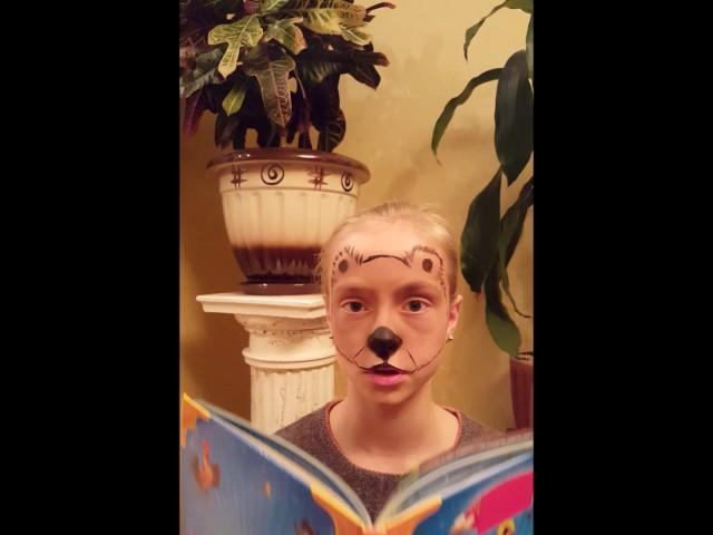 Изображение предпросмотра прочтения – ОльгаМалова читает произведение «Зеркало и обезьяна» И.А.Крылова