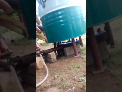 Inovatif Alat Bakar Lemang Tong Drum