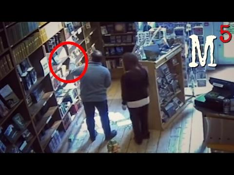 5 Nightmarish Videos of Ghost Caught On CCTV Camera