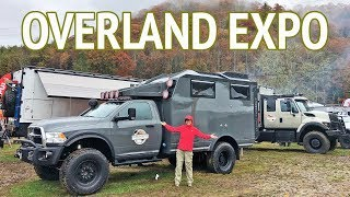 Overland Expo - 4x4 Off-Road Expedition Vehicles | Camper Van Life S1:E61