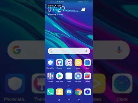 Huawei y6 2019 how to reset network settings