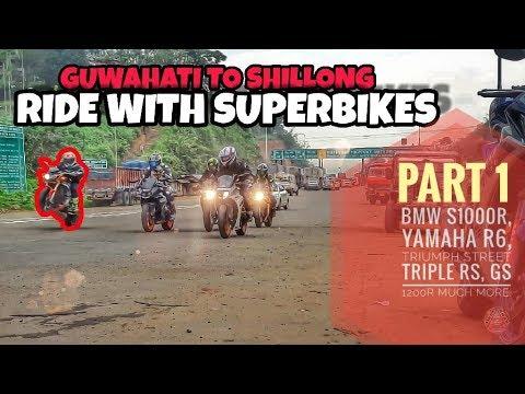 Guwahati To Shillong | Superbikes AutoShow 2018 | Part 1