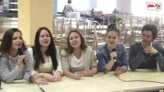 """""""Большая Перемена 2016"""" на """"Юмор FM Липецк"""". Школа №29. Песня про котлету."""