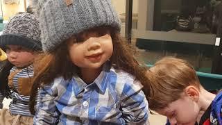 Большие куклы - как живые подружки. Придумайте имена!