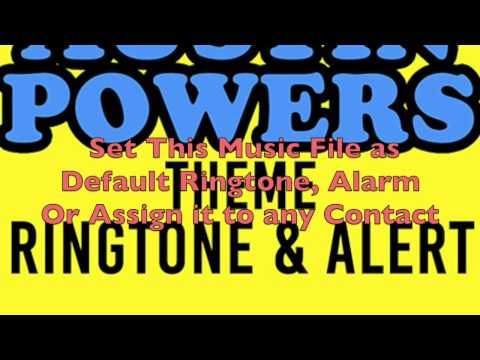 Austin Powers Theme Ringtone and Alert