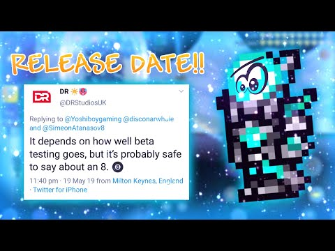 TERRARIA 1.3 MOBILE RELEASE DATE LEAKED!!