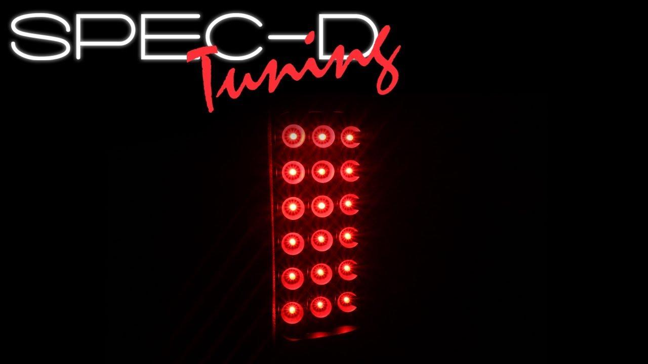 Specdtuning Demo Video 2003 2006 Chevy Silverado Led Tail Lights