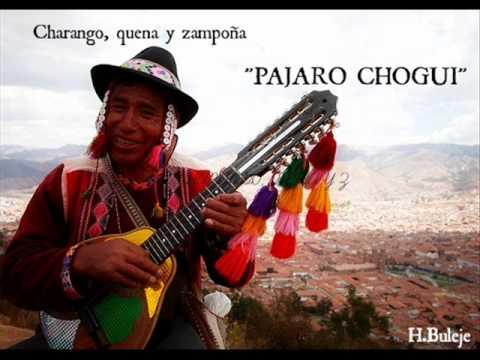 PAJARO CHOGUI ( CHARANGO, QUENA Y ZAMPOÑA )