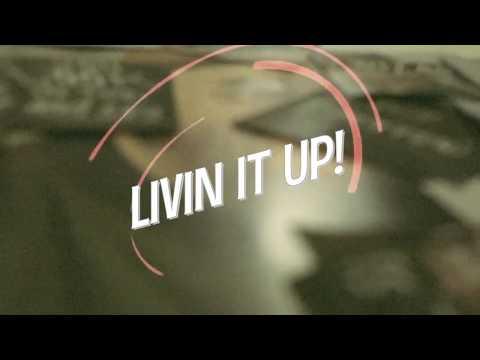 Indra Aziz - Livin' It Up (Lyric Video)