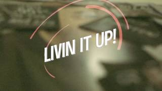 Indra Aziz - Livin' It Up (Lyric Video)
