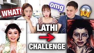 Download lagu KOREAN ACTRESS REACTS Weird Genius - Lathi (ft. Sara Fajira) VIRAL LATHI CHALLENGE