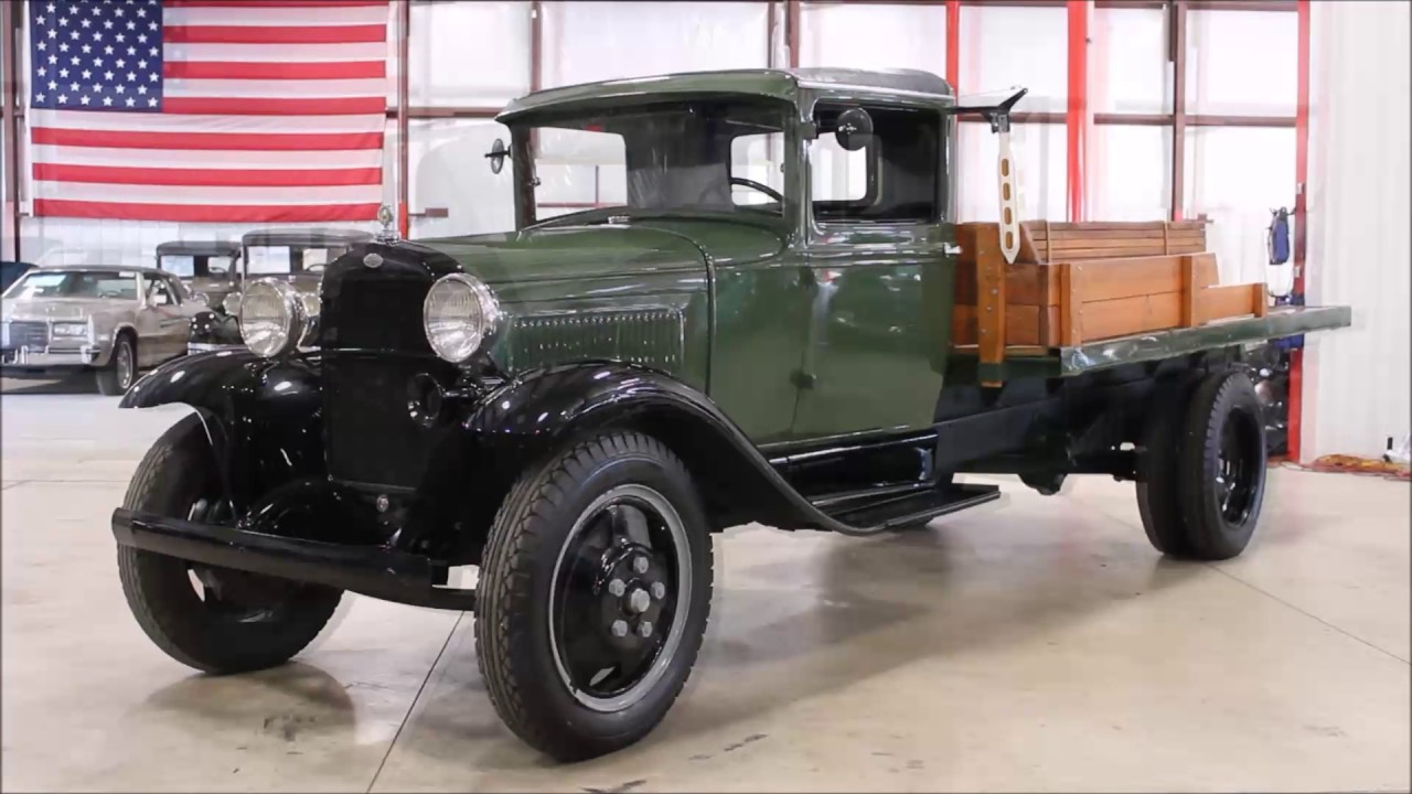 1931 Ford Model Aa Truck Youtube