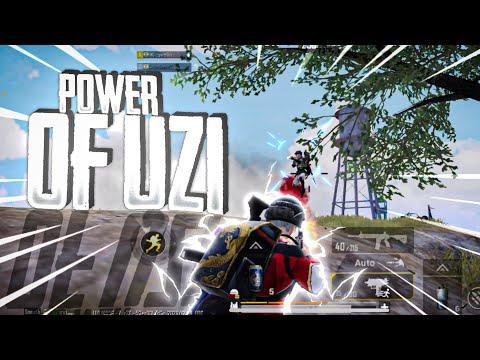 The Power Of UZI 😍| PUBG MOBILE