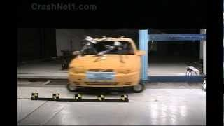 Volvo S80 | 1999 | Pole Crash Test by NHTSA | CrashNet1