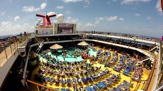 Cruise Voyage, Carnival Magic, Galveston TX, 6/29/14-7/6/14