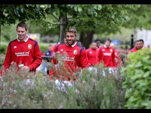 Behind The Scenes: The 2017 Squad Assembles | British & Irish Lions