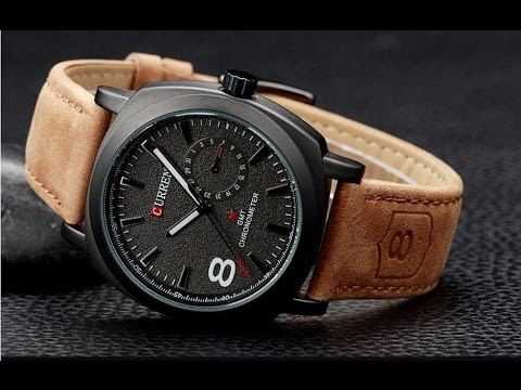 The simple watch curren from aliexpress com unboxing review youtube for Curren watches