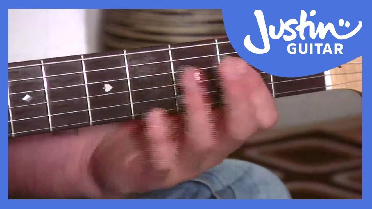 Easy Slash Chords Justinguitar