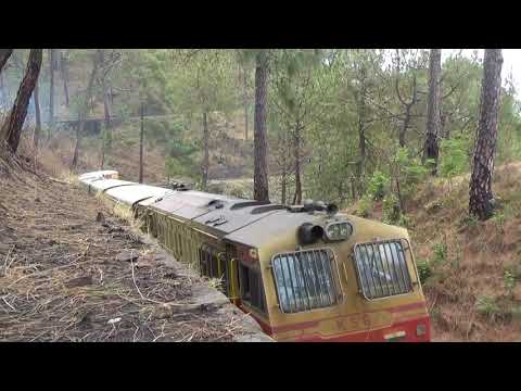 Kalka Shimla Express (52453) climbing the Sonwara Loop