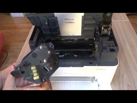 HP Laser 135a 135w 135r 137fnw - Replacing The Toner Cartridge W1106A 06A